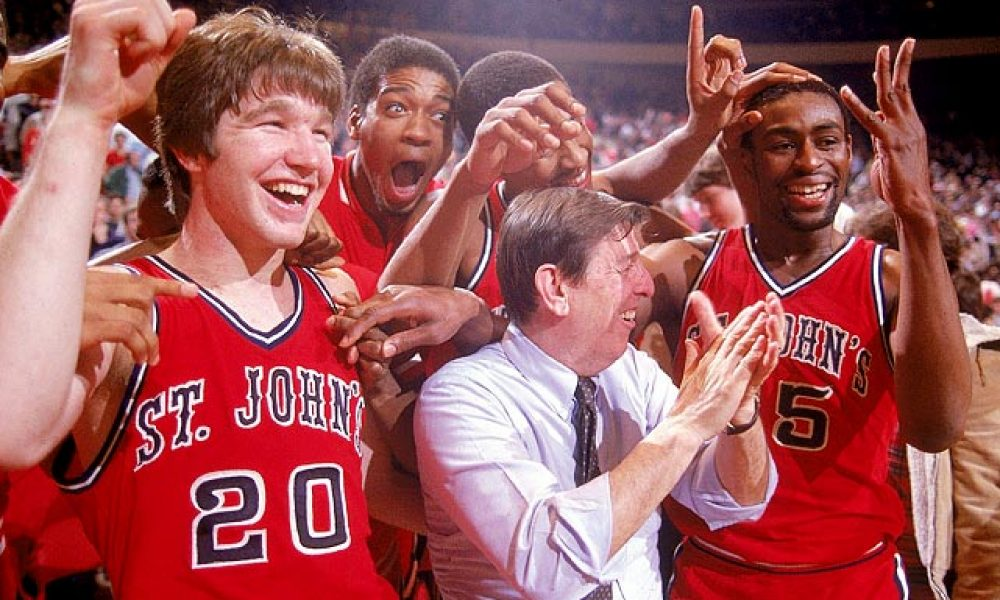Chris Mullin and his St. John's team