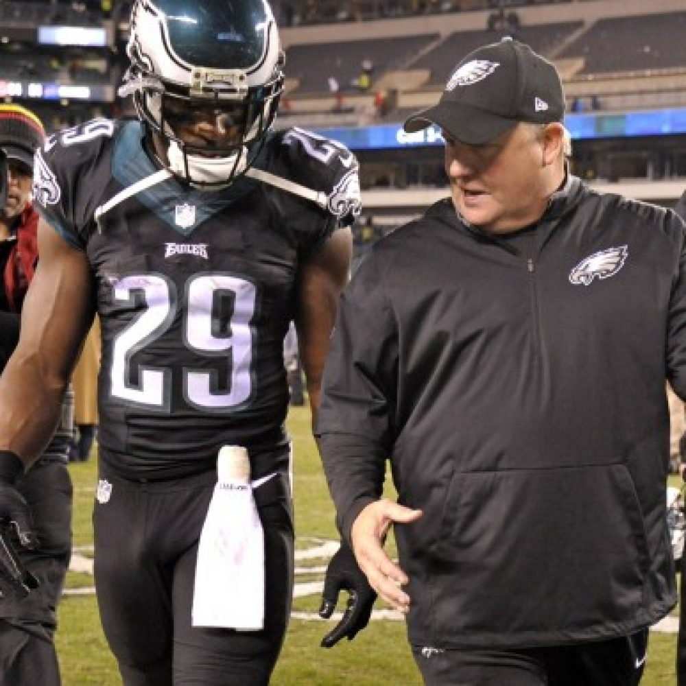 DeMarco Murray and Chip Kelly