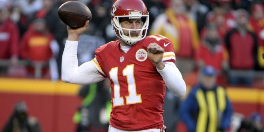 Alex Smith remains hospitalized 3 weeks after suffering broken leg