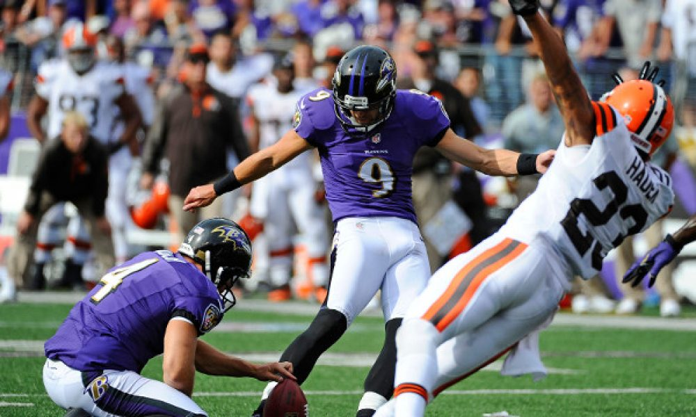 Justin Tucker, Baltimore Ravens