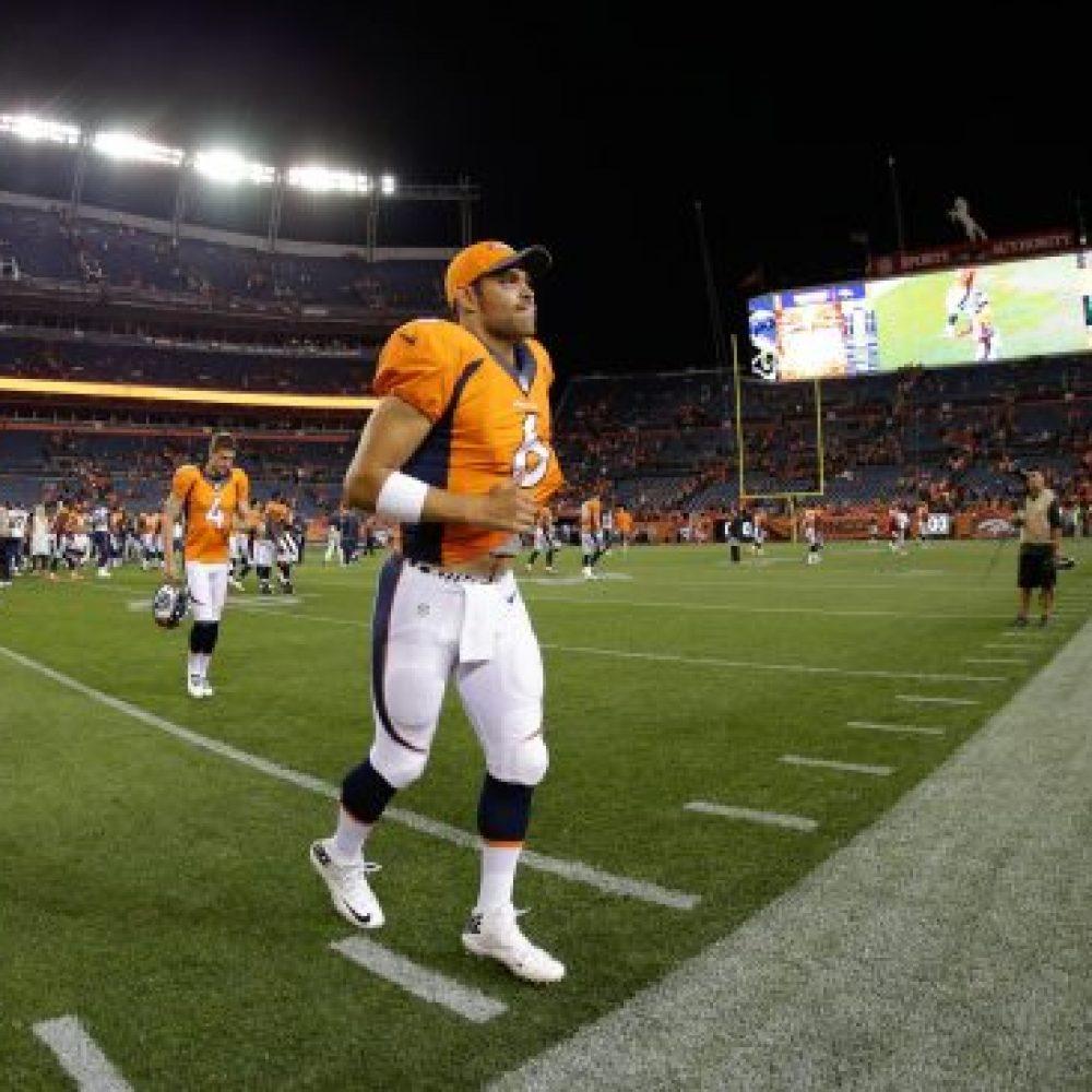 NFL QB Mark Sanchez of the Denver Broncos