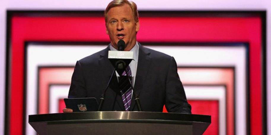 "Roger Goodell Wants ""Common Sense"" Sports Gambling Laws"