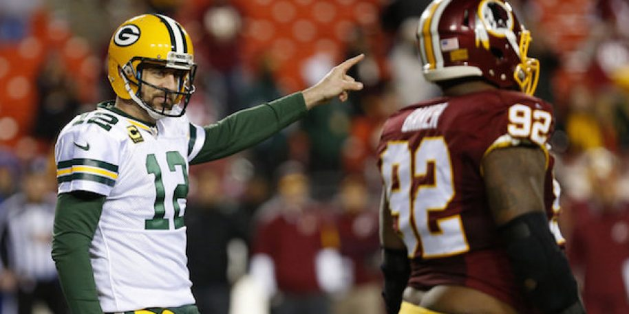 Aaron Rodgers suffers setback in knee rehab
