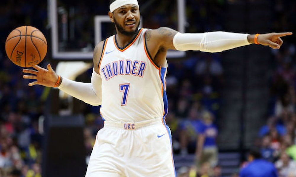 Carmelo Anthony, Oklahoma City Thunder