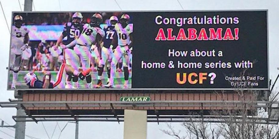 Florida remains an alternate universe in which UCF is national champion