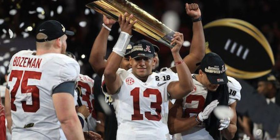 Injured Tua Tagovailoa 'non-committal' on declaring for 2020 NFL Draft