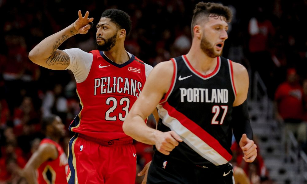 NBA: Playoffs-Portland Trail Blazers at New Orleans Pelicans