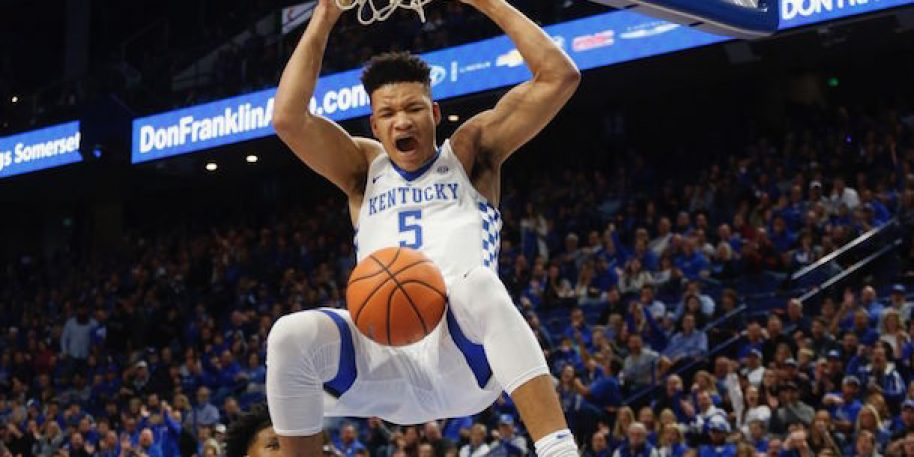 Kentucky's Kevin Knox declares for 2018 NBA Draft
