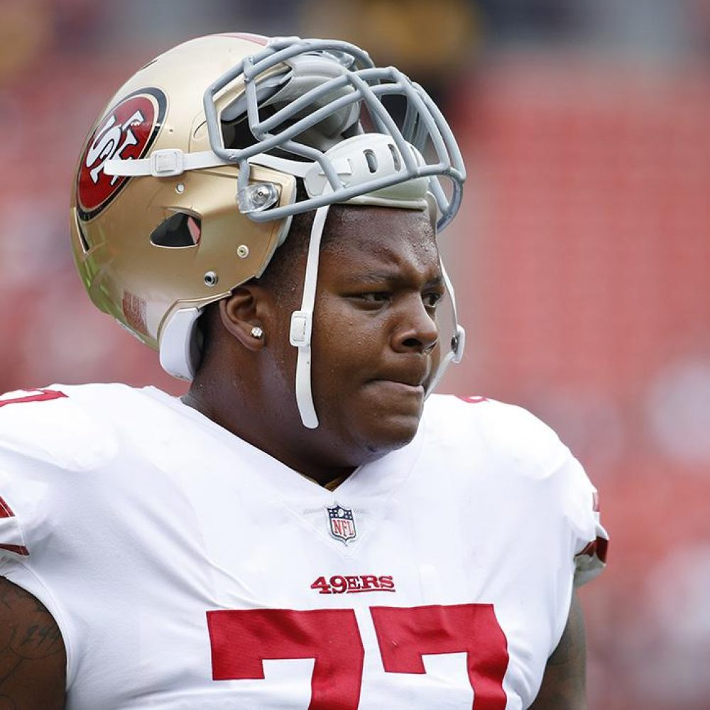 Trent Brown, 49ers, Patriots