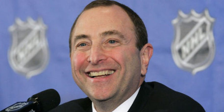Gary Bettman says only 4 NHL players remain unvaccinated