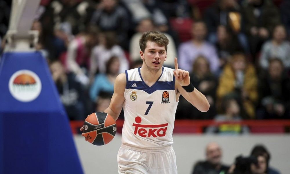 buy online 3587c 13c3c NBA Prospect Luka Doncic Helps Real Madrid to Euroleague Title