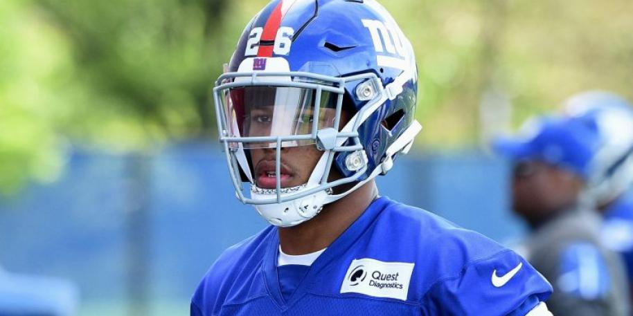 Giants' Odell Beckham Jr. gives some advice to rookie Saquon Barkley