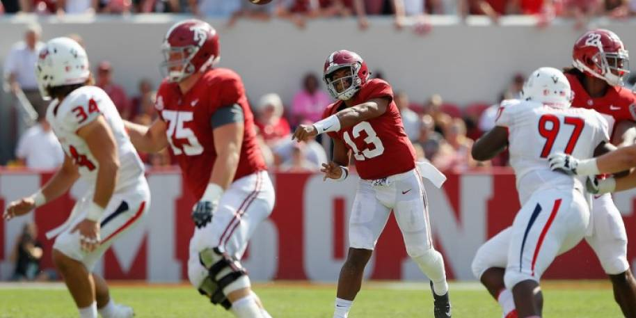 Alabama's Tua Tagovailoa Favored to Win Heisman Trophy