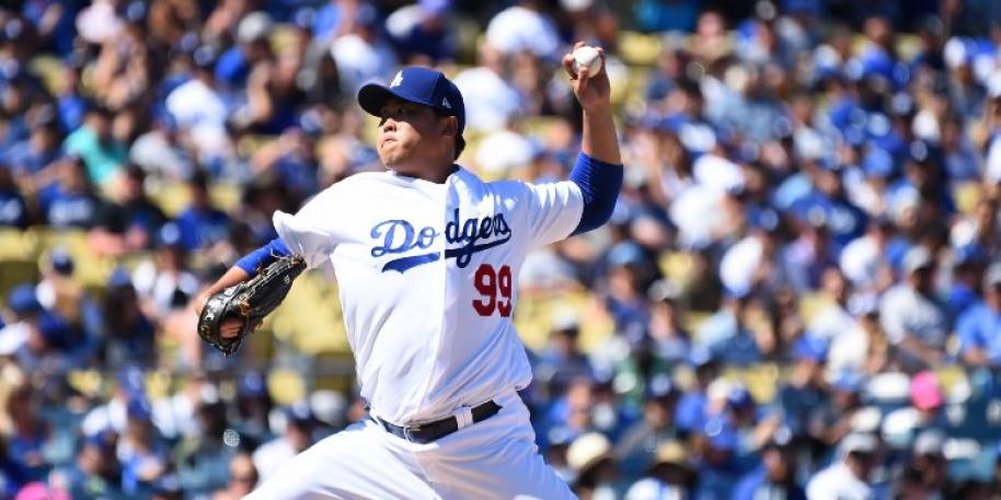 Hyun-Jin Ryu Starting Game 1 for Dodgers, Clayton Kershaw Game 2