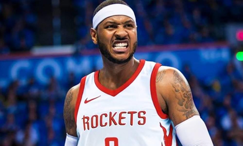 Carmelo Anthony, Rockets