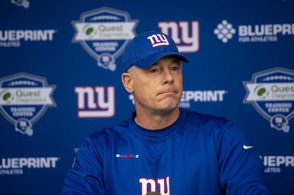 Pat Shurmur, Giants