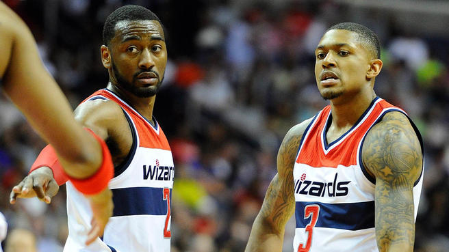 Bradley Beal, Wizards, John Wall