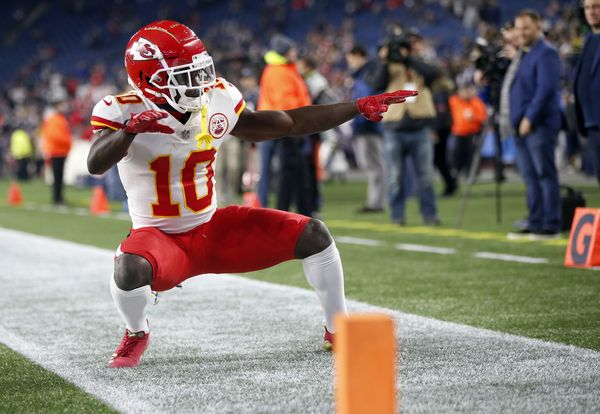 Tyreek Hill, Chiefs
