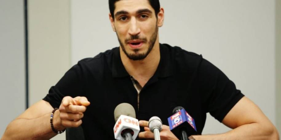 Enes Kanter Accused by Turkey of Being Member of Terror Group