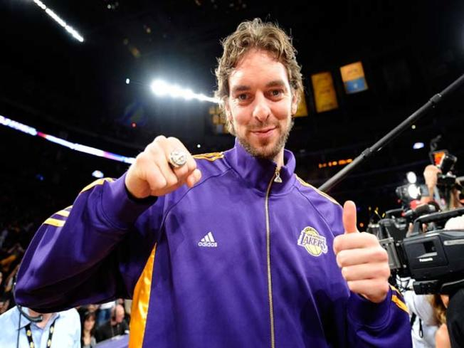 Pau Gasol, Bucks, Lakers