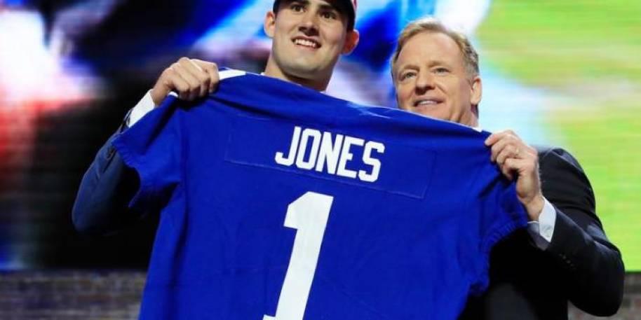 Giants Draft Daniel Jones to One Day Replace Eli Manning