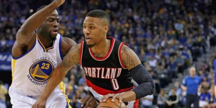 Blazers' Damian Lillard hasn't been pleased by lack of foul calls vs. Warriors