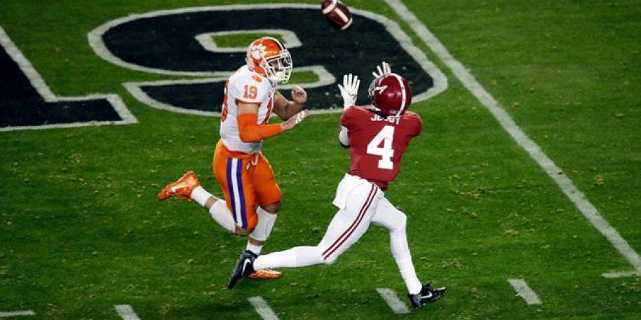 Alabama and Clemson Huge Favorites in Week 1