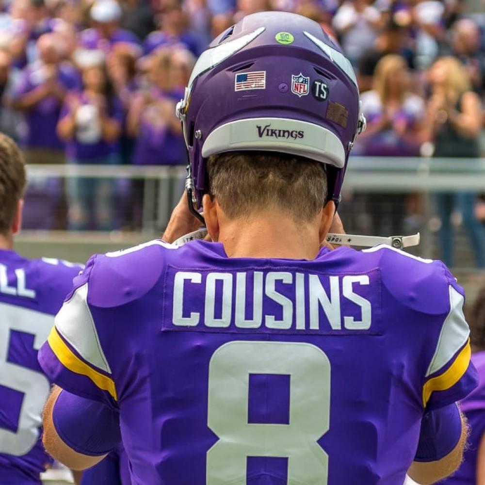 Kirk Cousins, Vikings