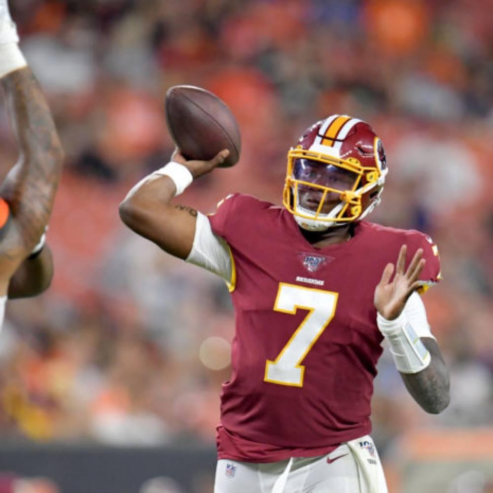 Dwayne Haskins, Redskins