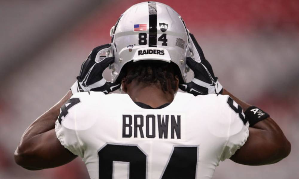 Antonio Brown, Raiders