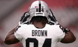 Antonio Brown, Raiders