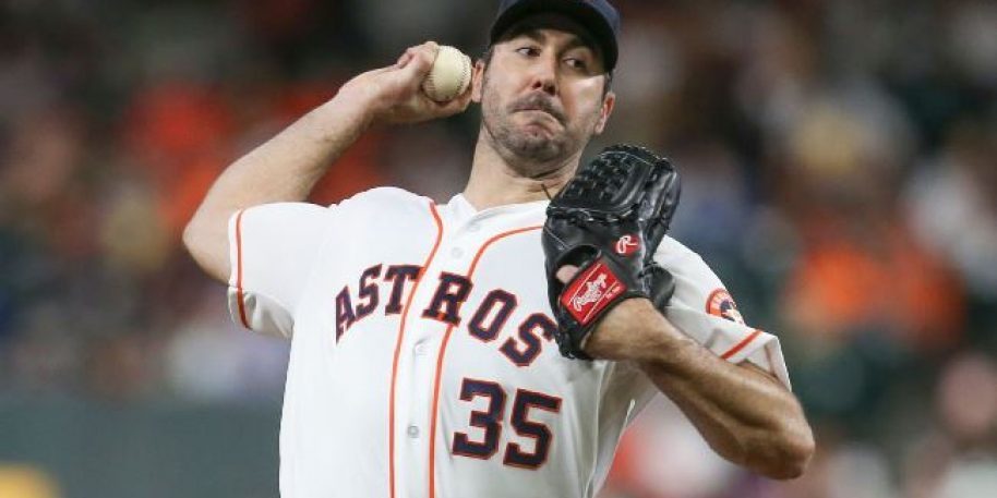 Justin Verlander Reaches 3,000 Career Strikeouts, 300 for This Season