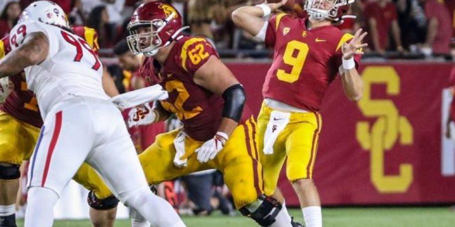 Freshman USC Quarterback Kedon Slovis Has Huge Debut