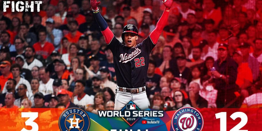 Nationals blow out Astros, take 2-0 lead in World Series