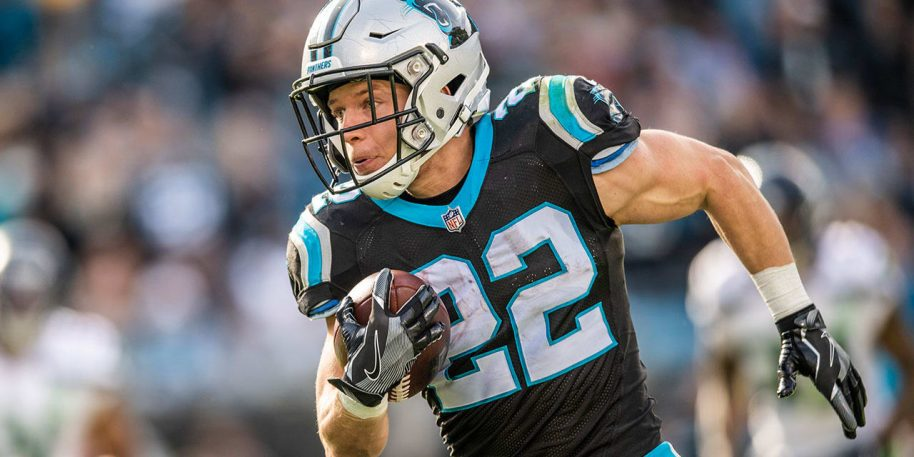 Panthers superstar Christian McCaffrey suffers leg injury in loss to Buccaneers