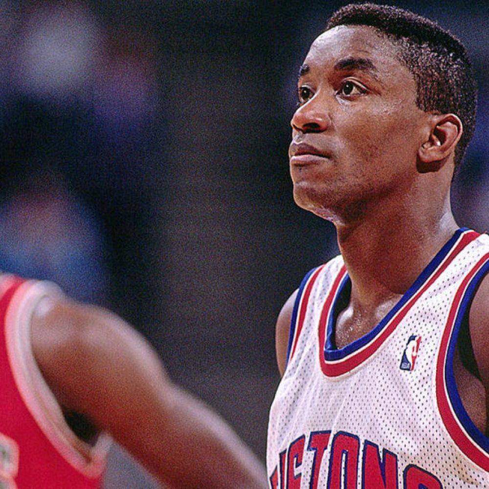 Isiah Thomas, Pistons, Michael Jordan, Bulls