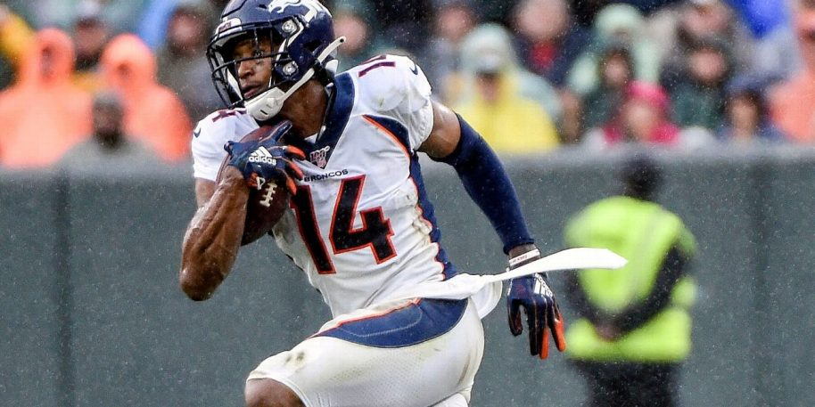 Broncos WR Courtland Sutton out for the season with knee injury
