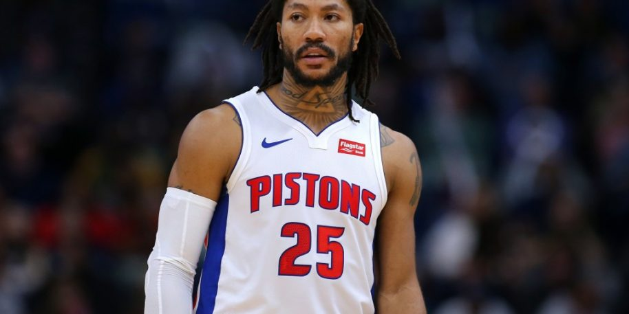 Los Angeles Lakers Could Trade For Pistons' Derrick Rose