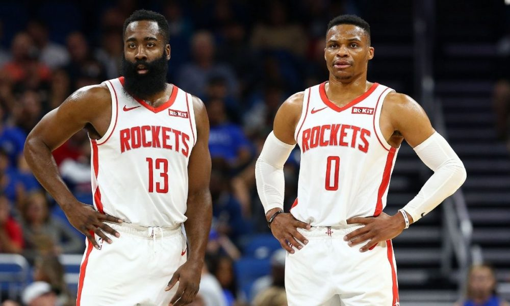 James Harden dan Russell Westbrook