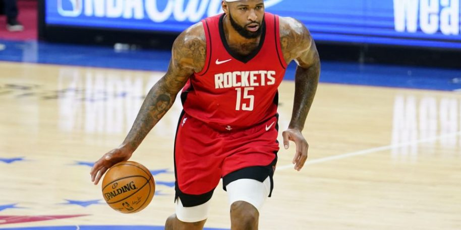 Rockets release center DeMarcus Cousins, who is now free agent