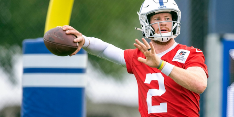 Colts QB Carson Wentz to miss 5-12 weeks following foot surgery