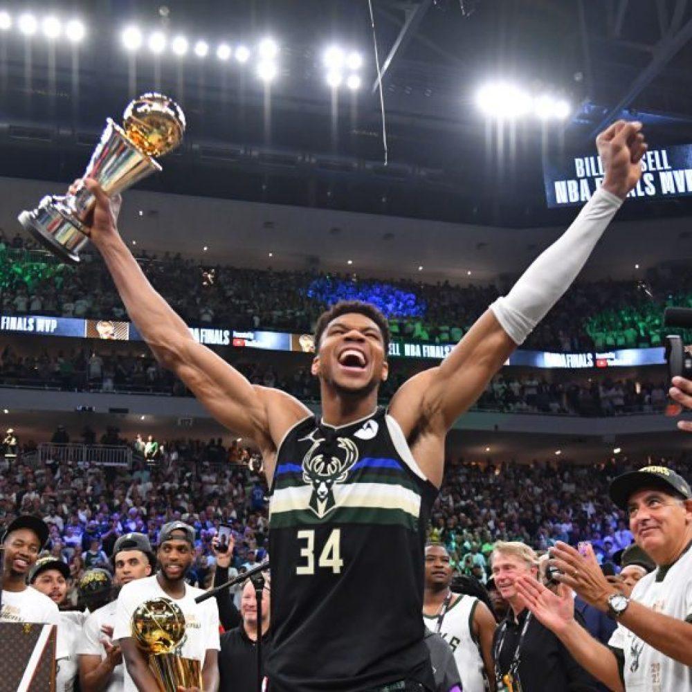 Giannis Antetokounmpo NBA Champ
