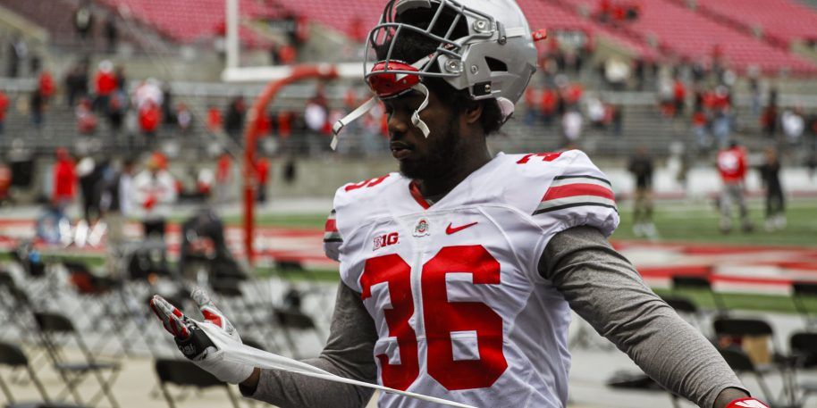 Ohio State LB quits mid-game, tweets from locker room