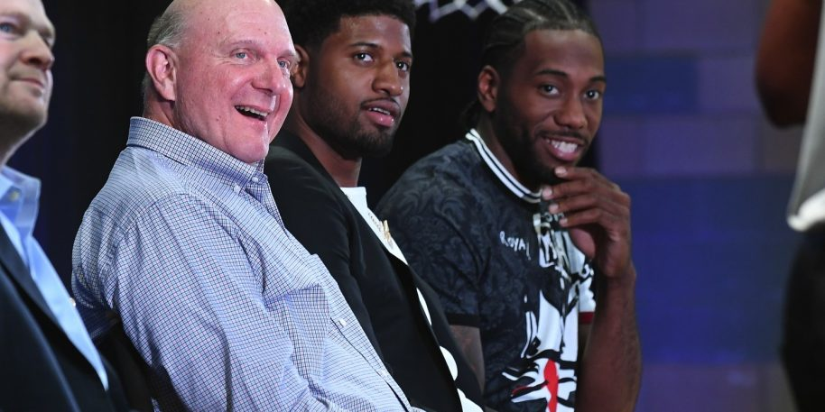 Steve Ballmer on Clippers: 'we're going to be good year in and year out'
