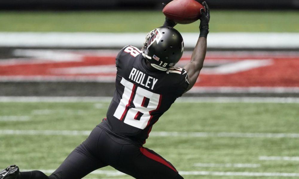 Calvin Ridley, Falcons