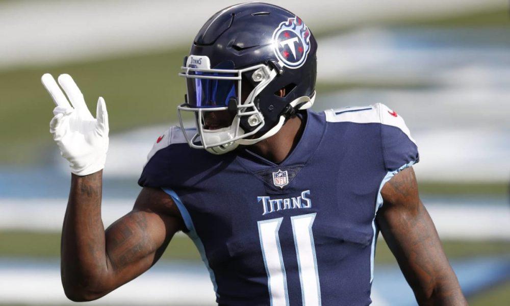 Julio Jones, Titans